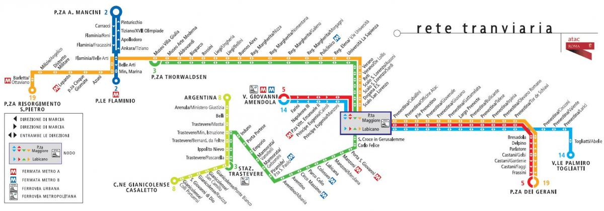 tram 8 route map
