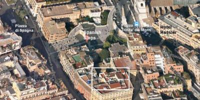 Map of Rome 3d