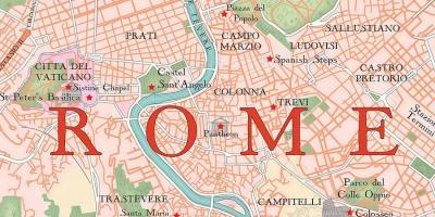 Map of Rome app