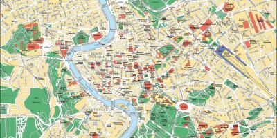 Map of Rome things to do
